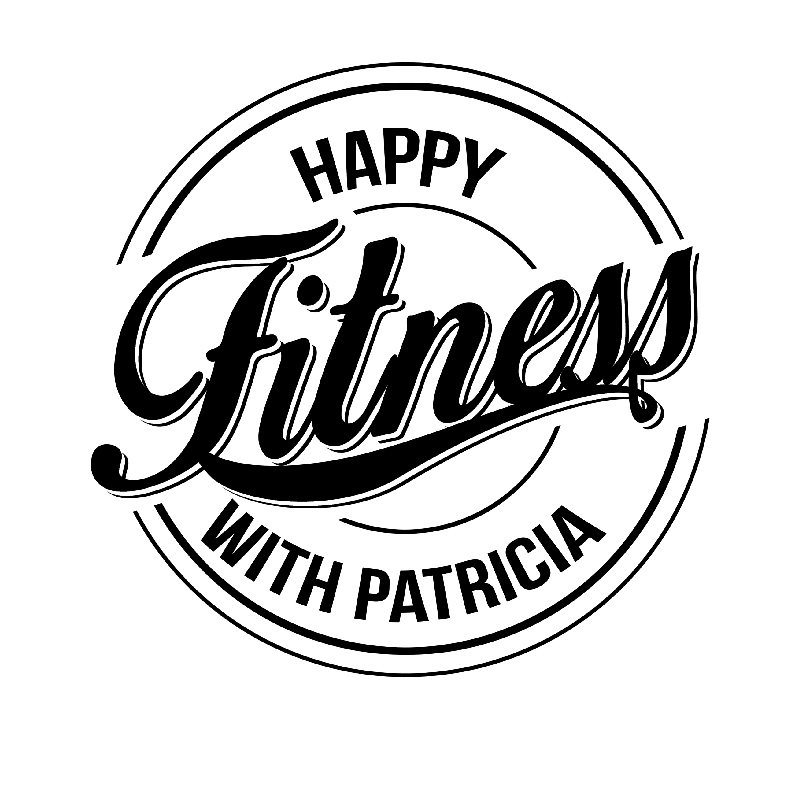 Happy Fitness With Patricia Logo
