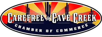 Carefree Cave Creek Chamber Logo